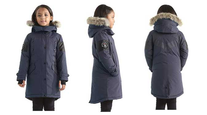 Embree Girls Down Jacket Parka